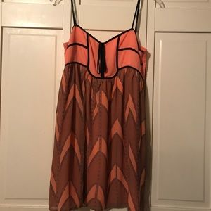 Forever 21 coral bubble dress
